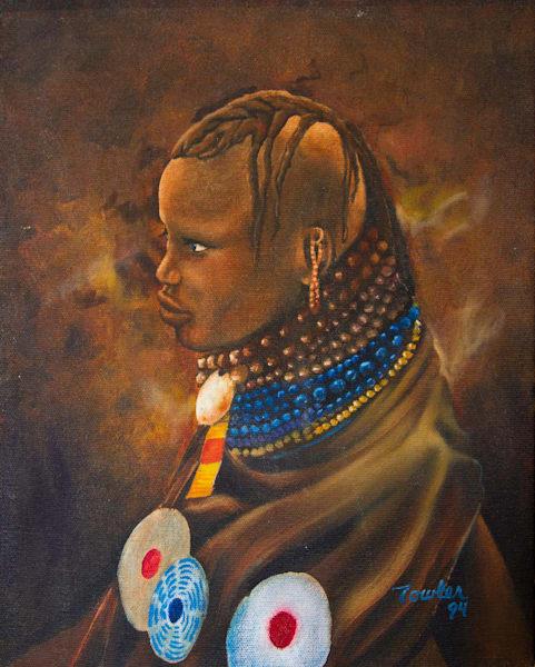 African Tribesman