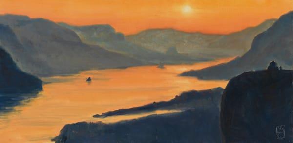 Columbia Gorge Sunset - Fine Art Prints