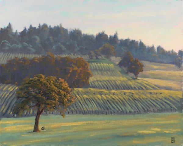 The Tire Swing, Stoller Vineyard Art | Michael Orwick Arts LLC