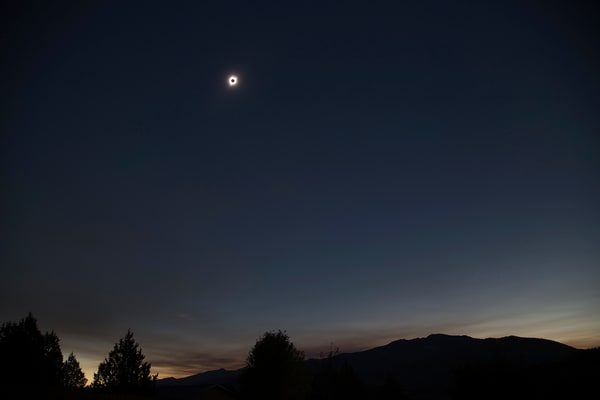 Eclipse in John Day