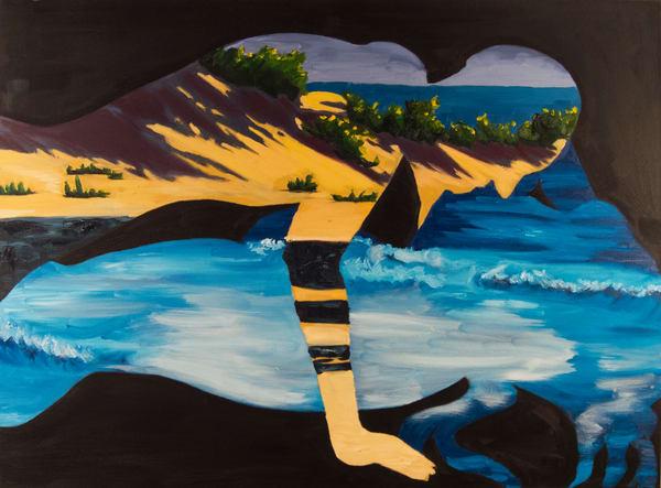 The Beach Art | Alex Ranniello Art