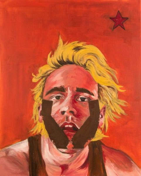 West Coast Self Portrait Art | Alex Ranniello Art