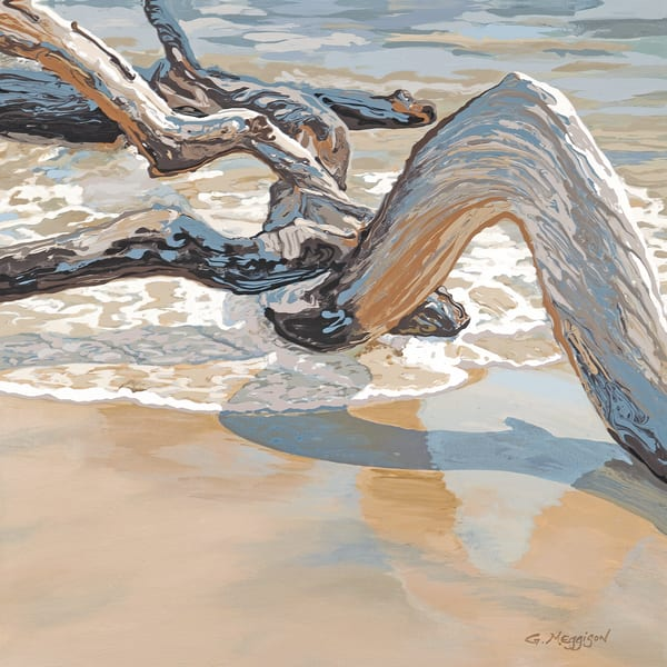 Water, Wind, Wood 3 | Contemporary Landscapes | Gordon Meggison IV