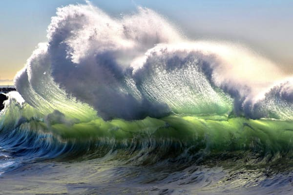 'Backwash' Photograph for sale as Fine Art