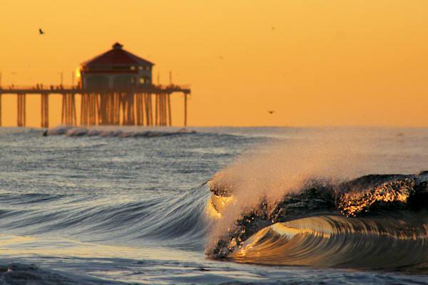 'The Golden Beach' Photograph by Jennifer Herron for sale as Fine Art