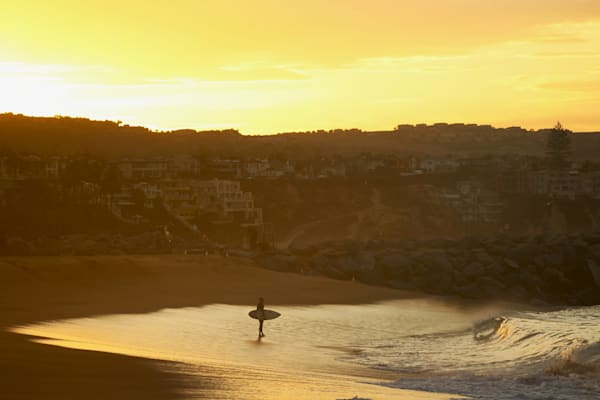 'Golden Hour Surf' Photograph for sale as Fine Art