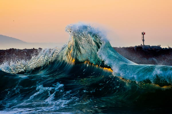 'Tip of the Wave' Photograph for sale as Fine Art