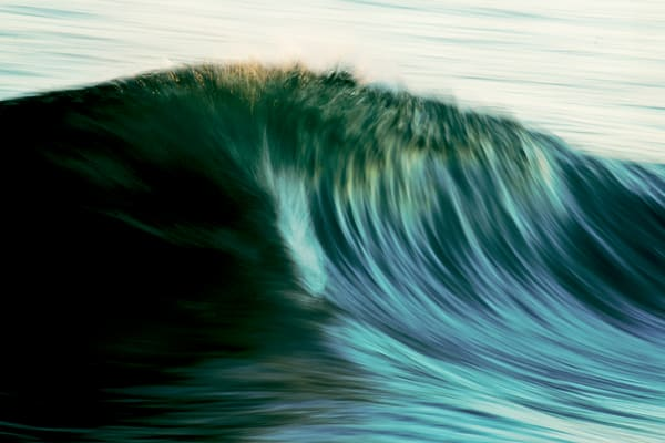'The Blurred Wave' Photograph for sale as Fine Art