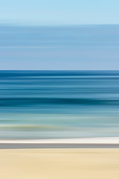 'Blue Blurs' Photograph by Jennifer Herron for sale as Fine Art