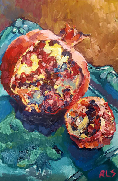 """Pomegranate"" by Louise Smith 