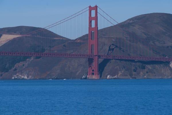 A Fine Art Photograph Of A Sunny Golden Gate Bridge By Michael Pucciarelli