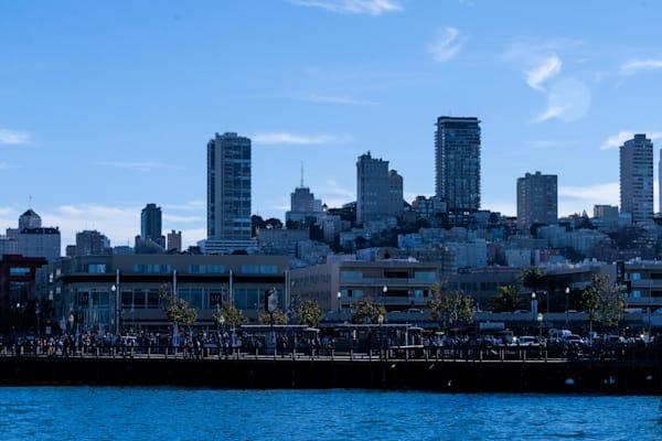 A Fine Art Romantic Photograph of Piers in San Francisco by Michael Pucciarelli