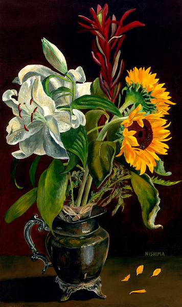 Fading Sunflowers