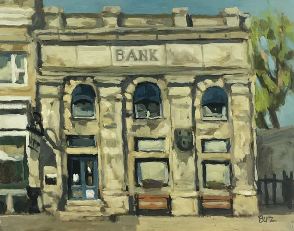 Washington Bank Art | Geoffrey Butz Art & Design Inc