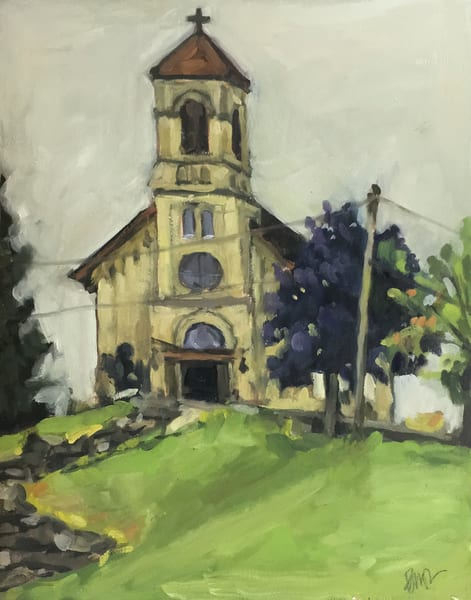 St. Lawrence On The Hill Art | Geoffrey Butz Art & Design Inc