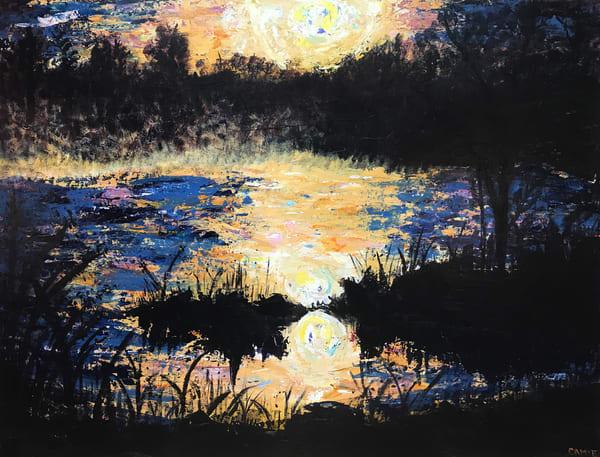 Pond Sunrise