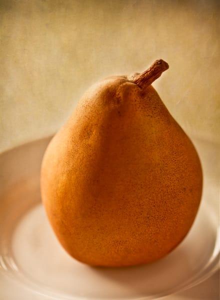 Pear in Gold fine art photograph