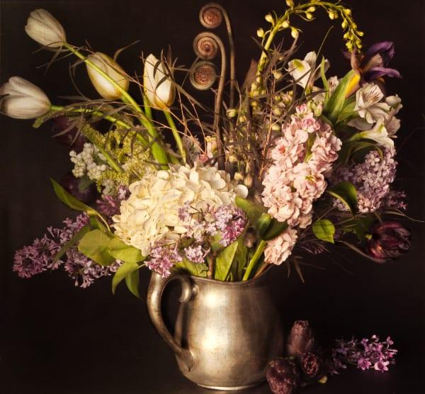 Lilacs and Artichokes fine art photograph