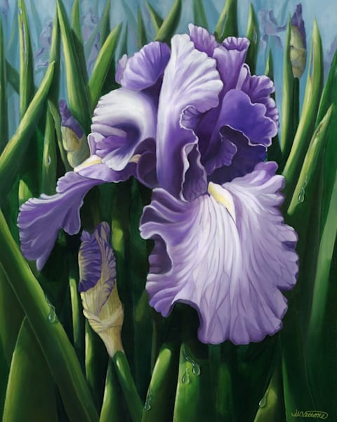 Floral and Garden art paintings
