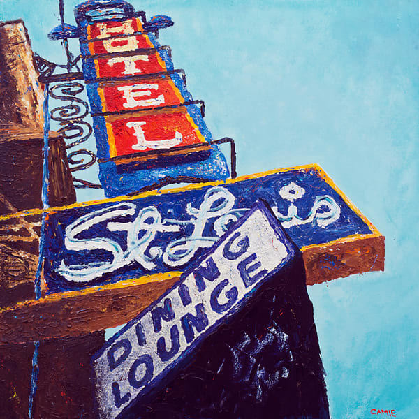 Calgary, neon-signs, art, paintings, prints, for sale