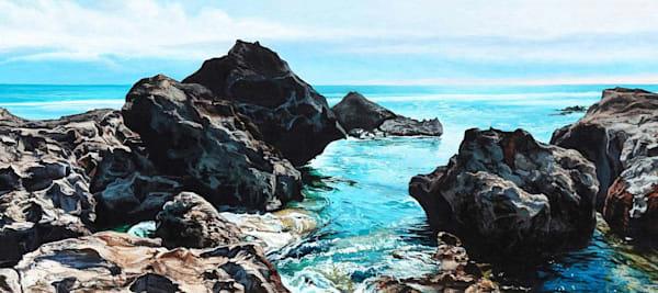Rocky Inlet beach art print | Kevin Grass Fine Art