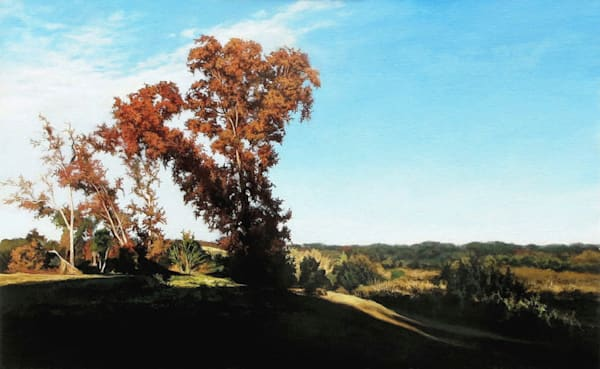 Tree in Grassy Pointe painting | Kevin Grass Fine Art