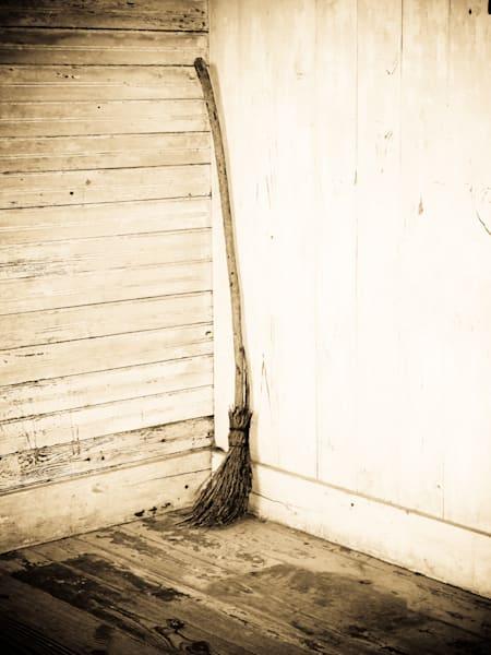 Sepia Broom