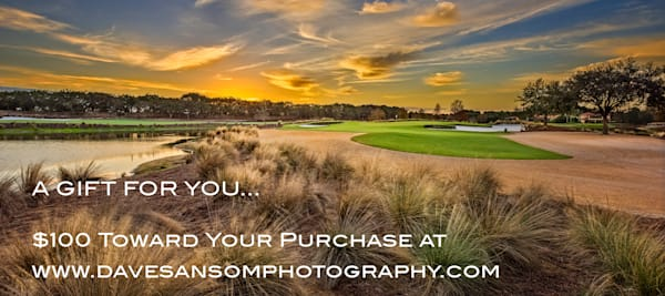 $100 Gift Card | Dave Sansom Photography LLC