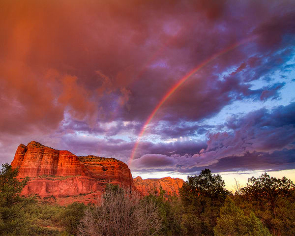 Rainbow Over Sedona