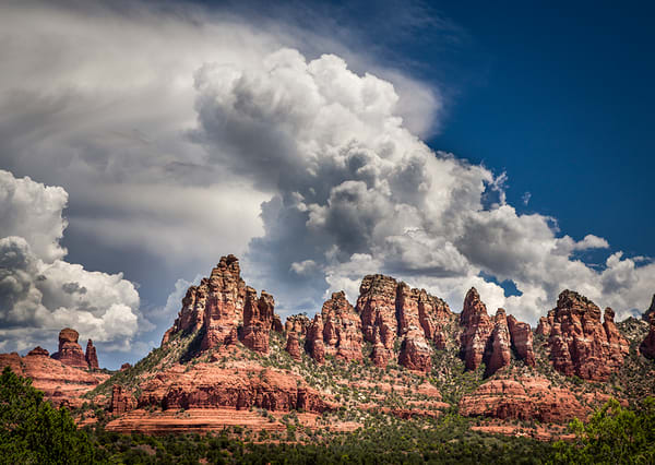 Sedona Monsoon Clouds