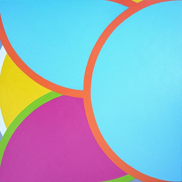 "Dear John 1, 30"" x30"". Original acrylic painting by Paul Westacott"