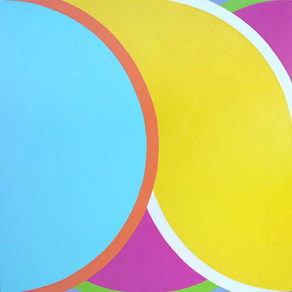 "Dear John 2 by Paul Westacott, Acrylic on canvas. 30""x30"""