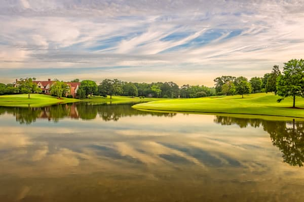 Beautiful At Any Time - Sunrise on East Lake Golf Club's 17th Tee