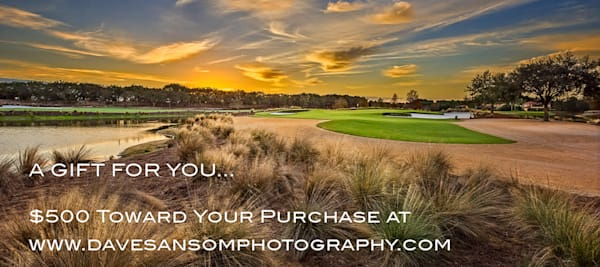 $500 Gift Card | Dave Sansom Photography LLC