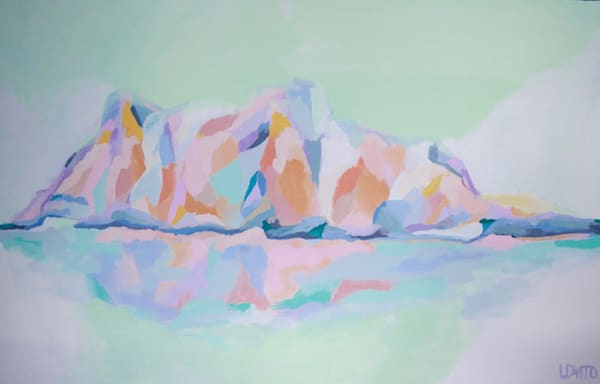 Lesli DeVito Fine Art Paintings | Abstracts |vacation island getaway