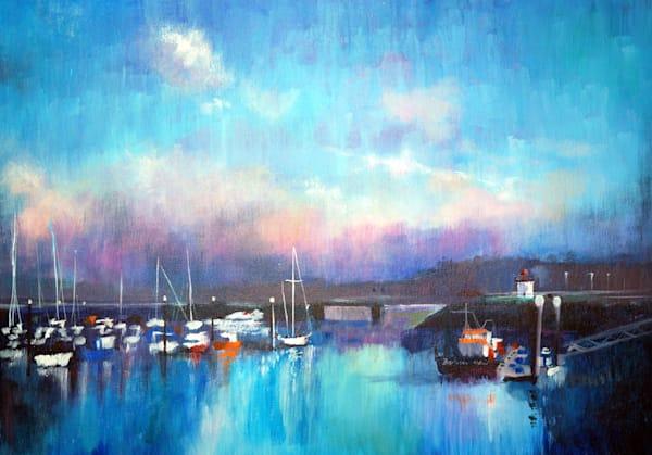 Burry Port Lighthouse Art Print