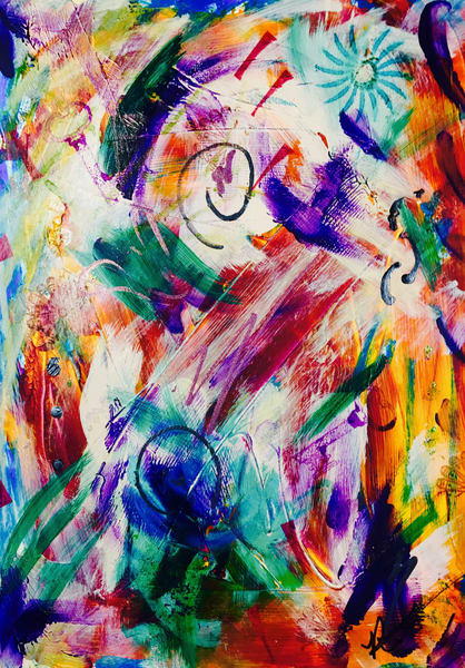 Wisdom Recovery Art by Robin M. Gilliam