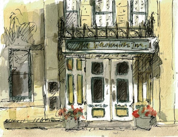 Washington House Inn Sketch