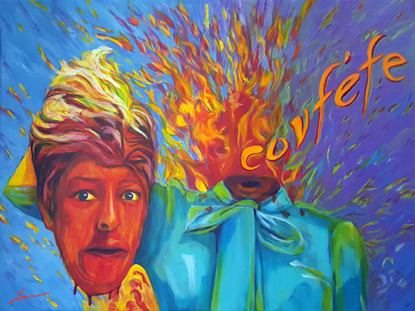 Will I Stand Up? by Michelle Leivan | Kansas Art Gallery