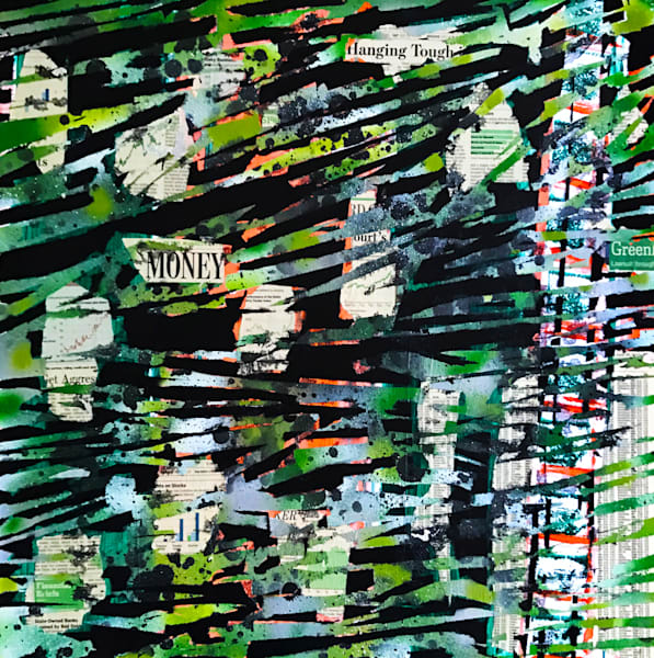 Get Money - Original Abstract Pop Art Painting by Soma79
