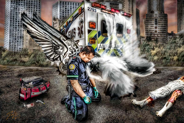 Man Made Angel Art | DanSun Photo Art