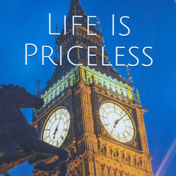London Big Ben | Large Blank Writing Journal