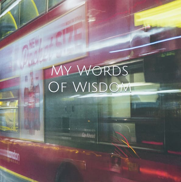 London Double Decker Bus | Large Blank Writing Journal
