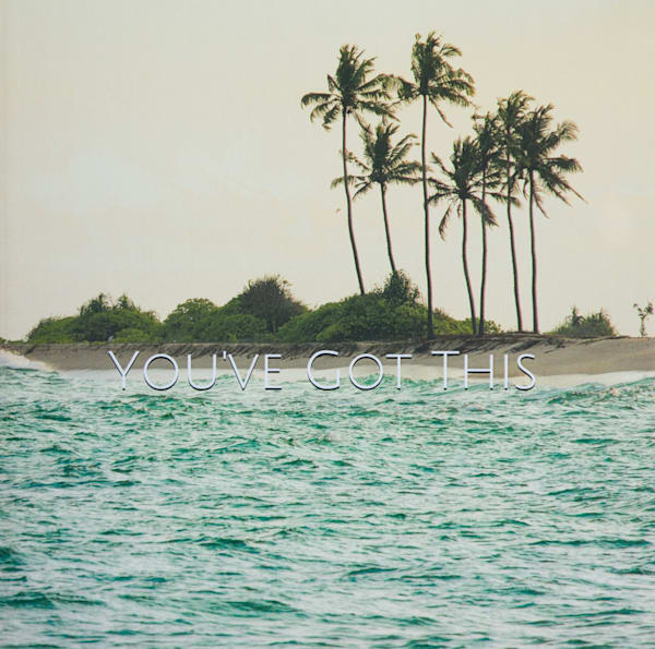 Seven Palms in Sri Lanka | Large Blank Writing Journal