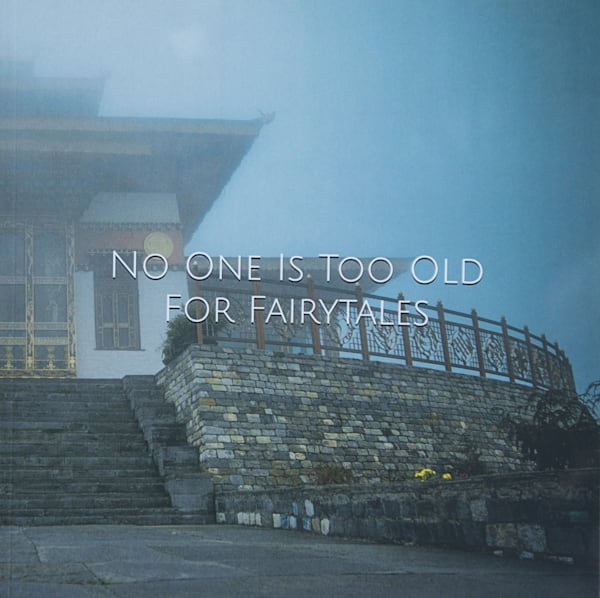 Bhutan Buddhist Temple | Large Blank Writing Journal