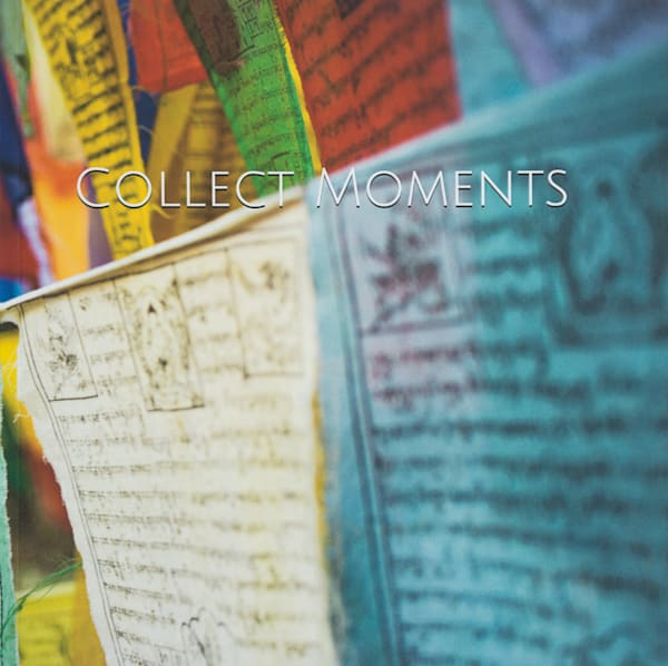 Buddhist Prayer Flags | Large Blank Writing Journal