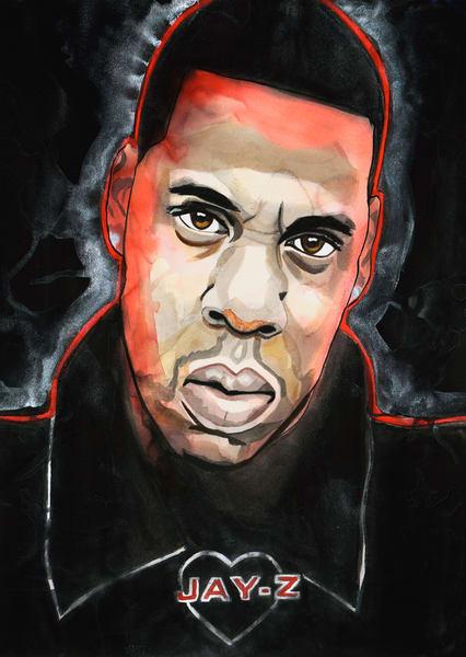 Jay Z Art | William K. Stidham - heART Art