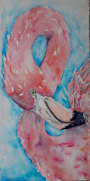 Frida the Flamingo