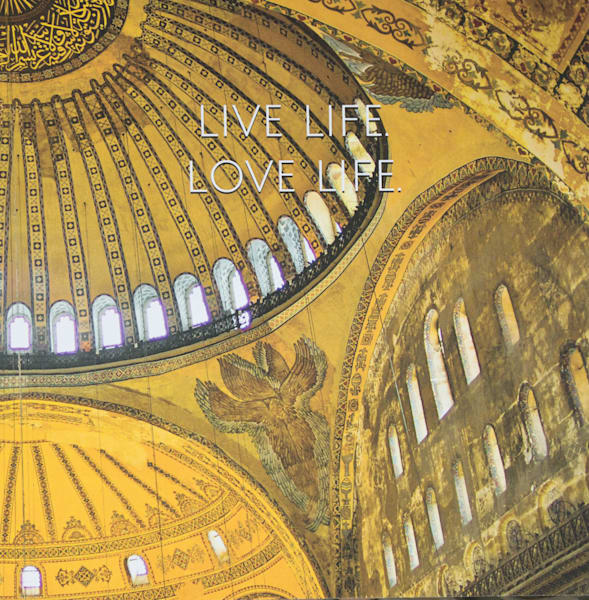 Hagia Sofia Ceiling | Large Blank Writing Journal