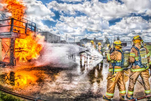 Fire Training 2 Art | DanSun Photo Art